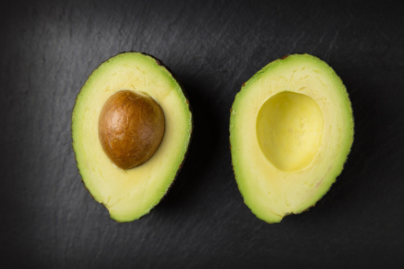 Avocado shown as a healthy fat source for higher testosterone