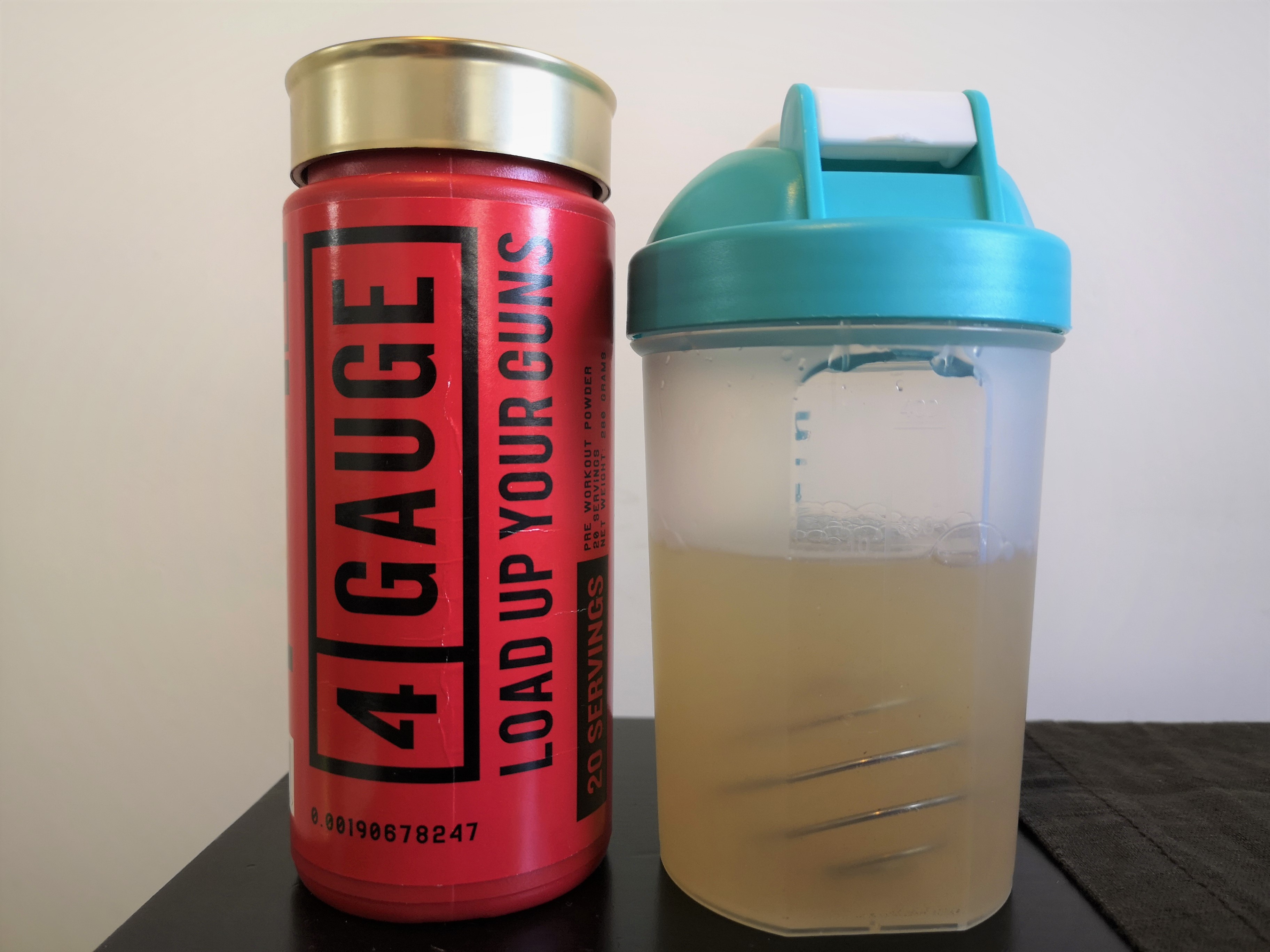 4 gauge and shaker
