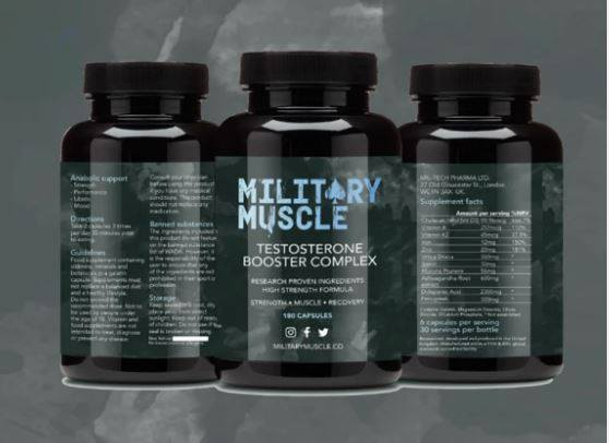 Military Muscle – Testosterone Booster Review